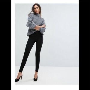 ASOS pull on black pants size 4